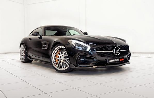 Picture black, Mercedes-Benz, Brabus, AMG, Black, BRABUS, AMG, 2015, GT S, C190, merits
