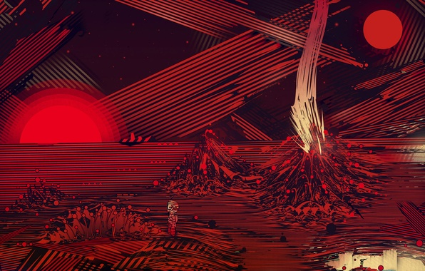 Picture figure, graphics, planet