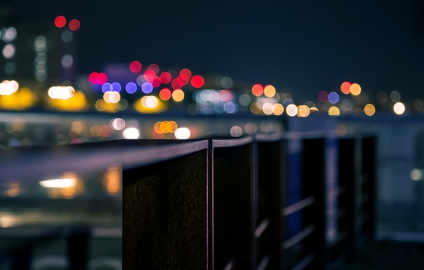 Picture macro, the city, background, Wallpaper, blur, wallpaper, widescreen, background, macro, bokeh, bokeh, full screen, HD …