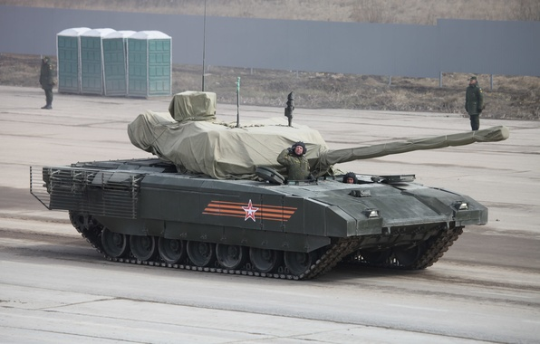 Picture armor, battle tank, Armata, T-14