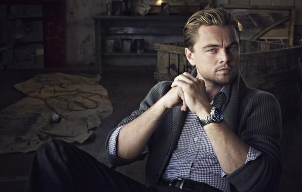 Picture watch, male, actor, actor, sweater, Leonardo DiCaprio, Leonardo DiCaprio, Tag Heuer