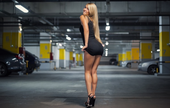 Wallpaper Girl, Sexy, Beauty, Garage Images For Desktop -3173