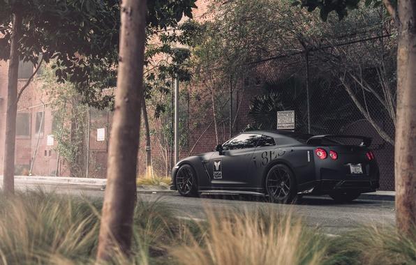 Picture Matt, Nissan, GT-R, black, Nissan