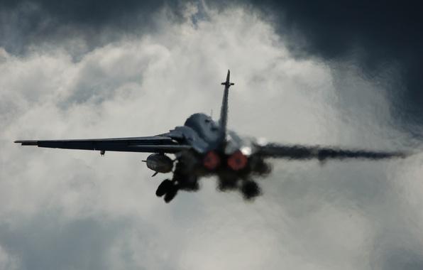 Picture aviation, the plane, the rise, Su-24