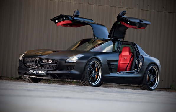 Picture Black, SLS, front, Kicherer, Supersport Edition