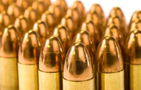 Picture Bullet, Copper, Sleeve, Cartridges