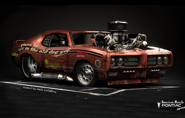 Picture Car, Hot Rod, Pontiac GTO, American Muscle