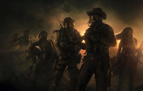 Picture Game, Wasteland 2, Desert Rangers