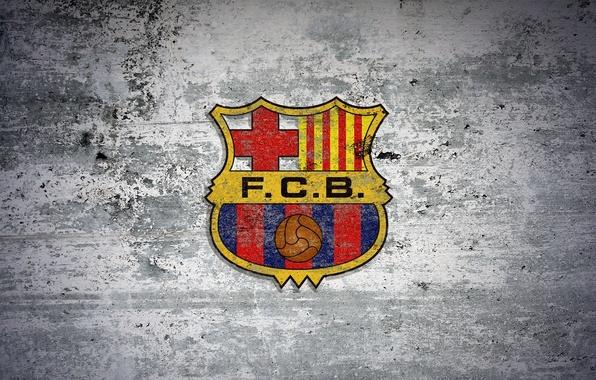 Picture logo, club, team, emblem, Leopard, FC Barcelona, FC Barcelona, Barca