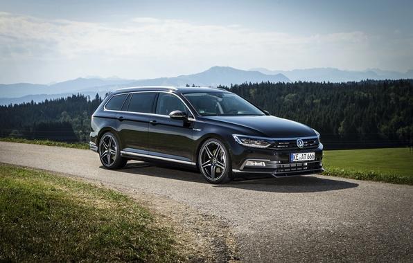 Picture black, Volkswagen, Volkswagen, ABBOT, universal, Passat, Passat