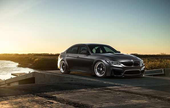Picture BMW, Sky, Carbon, Front, Black, Sun, Matte, F80, Mode