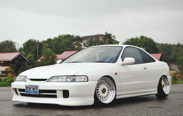 Picture Machine, Tuning, White, Honda, Japan, Car, Car, White, Wallpapers, Tuning, Beautiful, Wallpaper, Automobiles, Stance, The …
