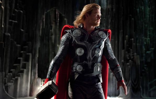 Picture Hero, Hammer, Thor, Thor, God, Chris Hemsworth, Chris Hemsworth, Viking