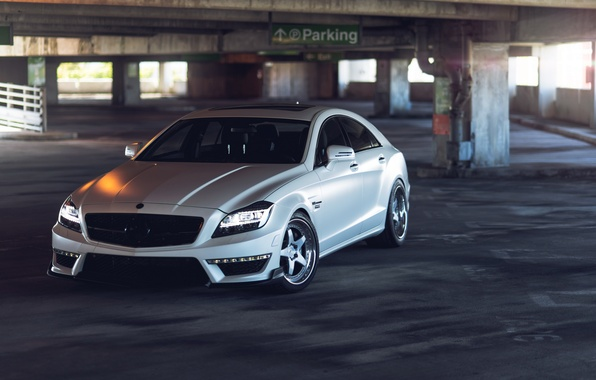 Picture tuning, Parking, Mercedes, mercedes cls