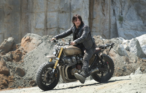Picture bike, The Walking Dead, The walking dead, Norman Reedus, Daryl