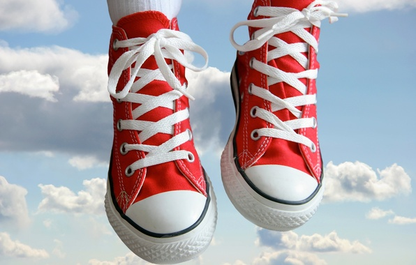 Picture clouds, sneakers, 154