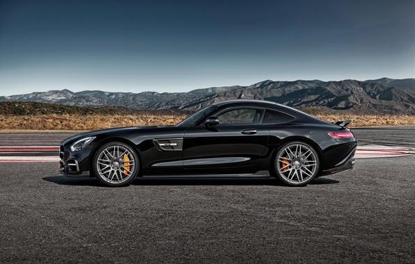 Picture black, Mercedes-Benz, Brabus, Mercedes, AMG, Black, BRABUS, AMG, 2015, GT S, C190