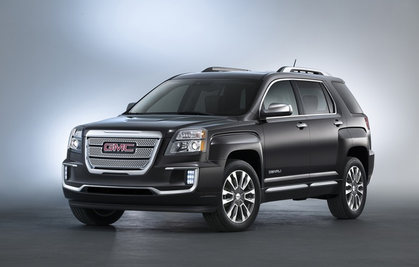 Picture black, jeep, GMC, Denali, Terrain, 2015