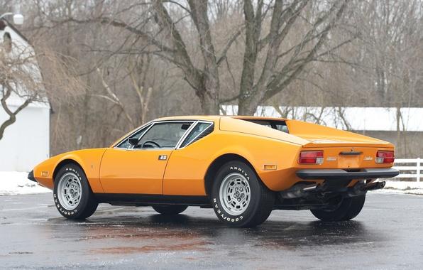 Picture auto, classic, De Tomaso, Pantera, de Tomaso