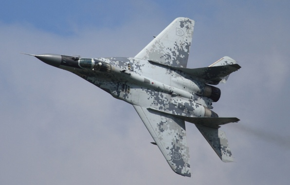 Picture fighter, multipurpose, MiG-29, The MiG-29