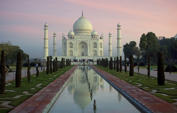Wallpaper taj mahal river yamuna agra india images for - Taj mahal screensaver free download ...