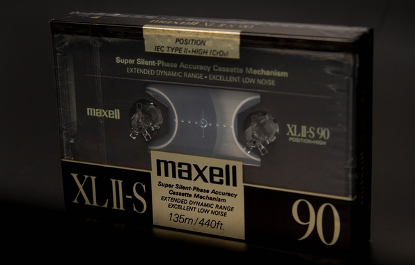 Picture macro, music, background, cassette, maxell