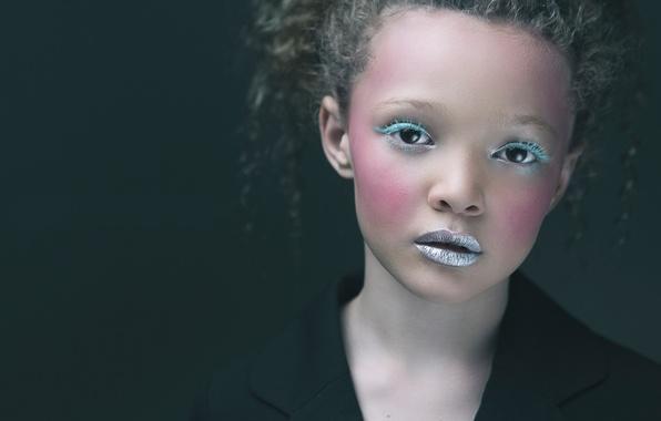 Picture model, makeup, girl, curls, Berkeley Clayborne