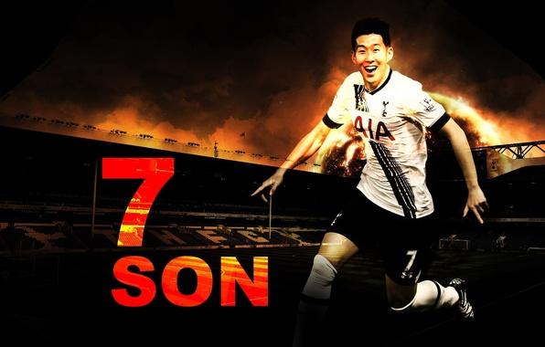Wallpaper Football, Spurs, Tottenham Hotspur, Son