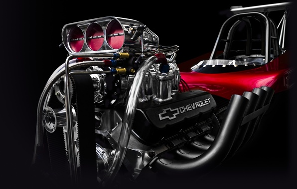 Picture engine, Corvette, Chevrolet, engine, motor, hot rod