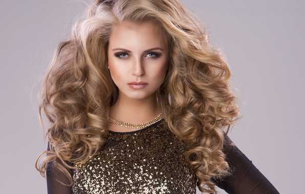 Picture look, face, style, background, model, hair, Girl, dress, hairstyle