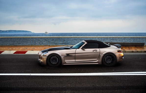Picture car, Roadster, Hamann, Mercedes Benz, AMG, SLS, tuning