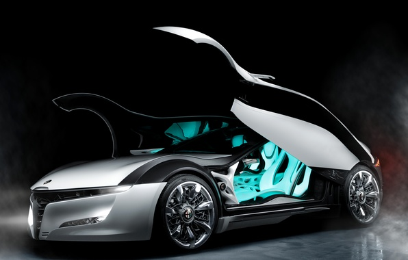 Picture door, Alfa Romeo, the concept car, side view, Pandion