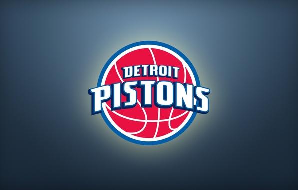 Picture Sport, Basketball, Background, Logo, NBA, Detroit, Pistons