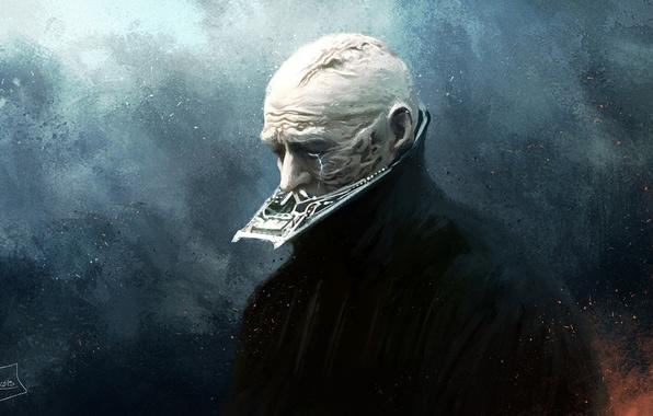 Photo Wallpaper Star Wars Art Anakin Skywalker Jedi Sith Lord Darth