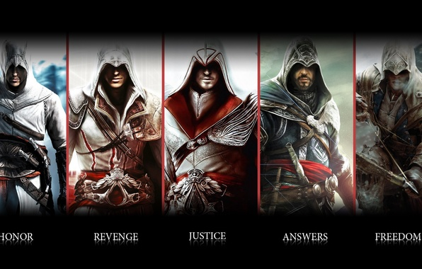 Picture weapons, assassins creed, Altair, killer, blade, ubisoft, Ezio, Connor, animus
