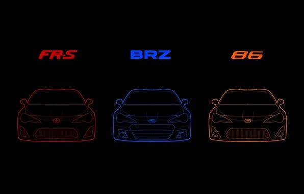 Picture Subaru, Toyota, BRZ, GT86, FR-S, Scion