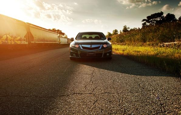 Picture before, Honda, Accord, Sunny, Honda, Tuning, Acura, Acura, Vossen, Wheels, TSX