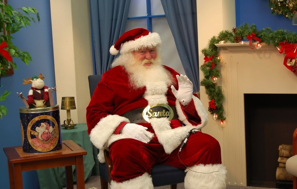 Picture photo, holiday, hat, Christmas, New year, beard, Santa Claus, Santa Claus