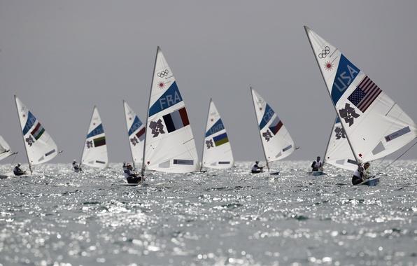 Picture Portland, lasers, Olympics, regatta, Weymouth