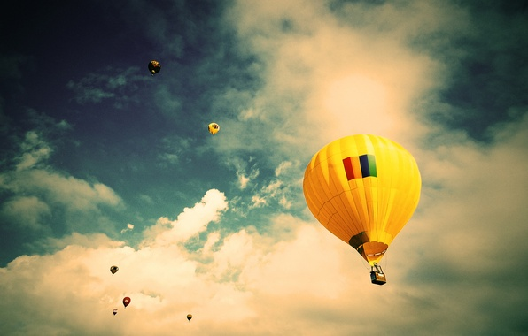 Picture the sky, clouds, flight, balloon, Brazil, Sao Paulo, extreme sports, Jacareí