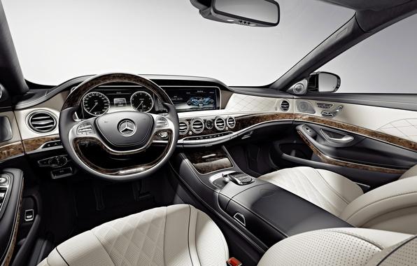 Picture Mercedes-Benz, interior, Maybach, salon, Mercedes, Maybach, S-Class, X222, 2015