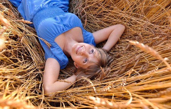 Picture blue eyes, clothing, lying, resting, relaxation