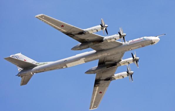Picture bomber, strategic, Soviet, Tu-95MS, turboprop, Intercontinental, Bear