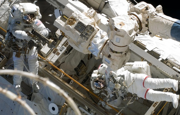 Picture photo, astronaut, NASA, ISS, astronaut