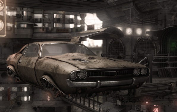 Picture fiction, Wallpaper, dodge, challenger, wallpapers, future