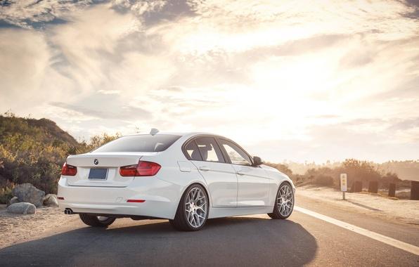 Picture BMW, white, 328i, F30, Sedan, 3 Series