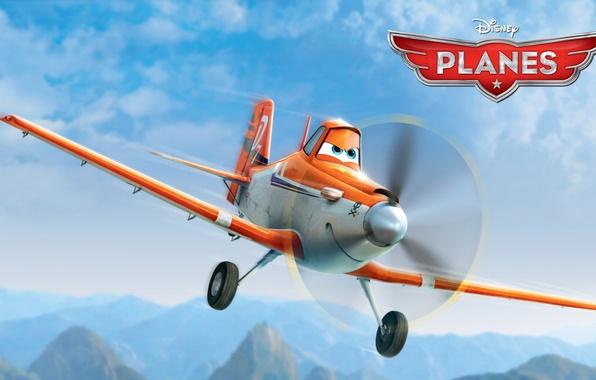 Picture cartoon, wings, adventure, rally, wings, Walt Disney, animation, action, Walt Disney, adventure, airplane, air race, …