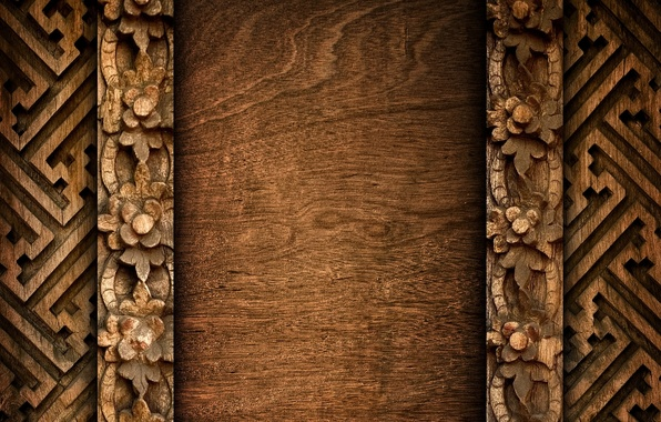 Picture colors, wood, pattern