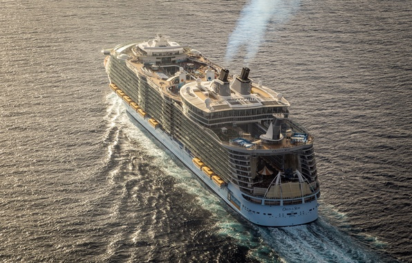 Picture the ocean, liner, comfort, cruise ship