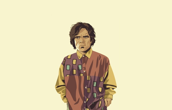 Picture minimalism, shirt, Game of Thrones, Game of thrones, Tyrion Lannister, Tyrion Lannister